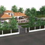 Casa cu piscina sos alexandriei arhitectura rezistenta instalatii